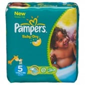 Pack 30 Couches Pampers de Baby Dry sur couches zone