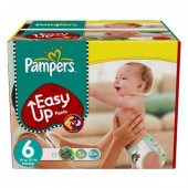 Pack 114 Couches Pampers d'Easy Up sur choupinet