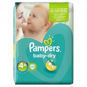 Pack 41 couches Pampers Baby Dry