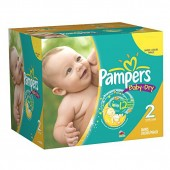 Maxi Pack 396 Couches Pampers de Baby Dry sur les looloos