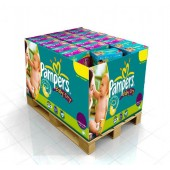 Couches Pampers Baby Dry taille 4+ - 336 couches