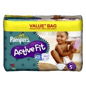 Giga Pack 174 Couches Pampers Active Fit