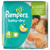 Pack 46 couches Pampers Baby Dry