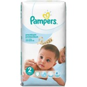 Couches Pampers New Baby Sensitive taille 2 - 60 couches