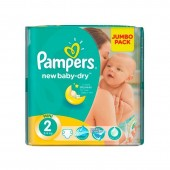 Pack 68 couches Pampers New Baby Dry