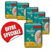 Maxi Giga Pack Jumeaux 952 couches Pampers New Baby Dry