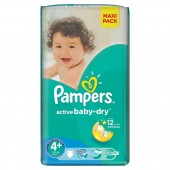 Pack 32 couches Pampers Active Baby Dry