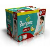 Couches Pampers Baby Dry Pants taille 5 - 210 couches