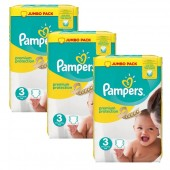 Giga Pack 198 couches Pampers Premium Protection