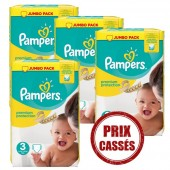 Maxi Giga Pack 330 couches Pampers Premium Protection
