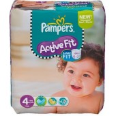 Pack 39 Couches Pampers Active Fit sur couchescenter