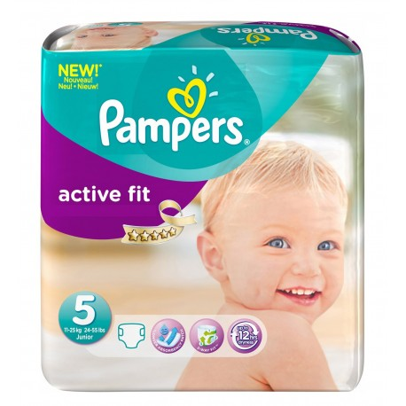 Couches Pampers Active Fit taille 5 - 92 couches de Starckman