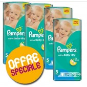 Couches Pampers Active Baby Dry taille 5 - 232 couches