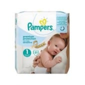 Pack 21 couches Pampers New Baby Sensitive