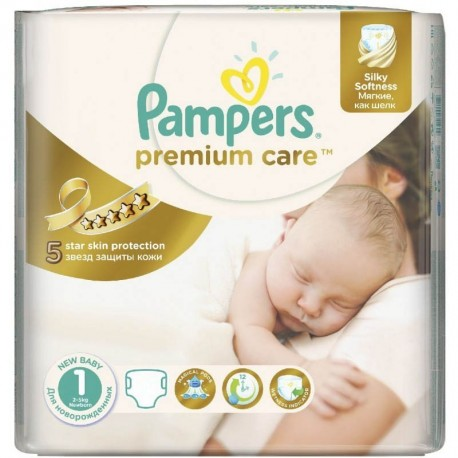 Couches Pampers Premium Care taille 1 - 41 couches de Starckman
