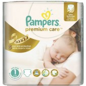 Pack de 41 Couches Pampers Premium Care sur layota