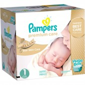 Couches Pampers Premium Care taille 1 - 164 couches