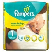 Pack de 23 Couches Pampers New Baby sur layota