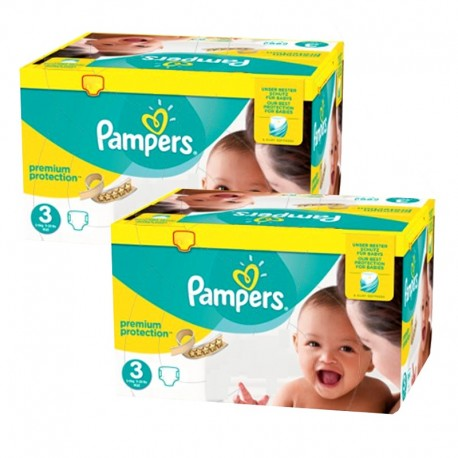 400 Couches Pampers Premium Protection - New Baby taille 3 de Starckman