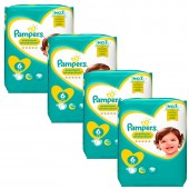 96 Couches Pampers Premium Protection - New Baby taille 6