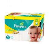 64 Couches Pampers New Baby - Premium Protection taille 4