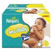 Couches Pampers New Baby taille 1 - 280 couches